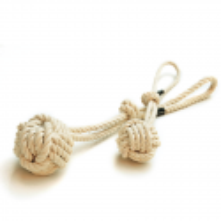 Cuerda algodón bola Treusinn
