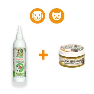 Pack limpiaoídos + crema